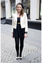 golden Zara blazer