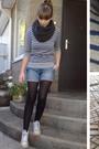 Gray-massimo-dutti-sweater
