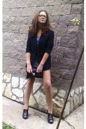 G-Star blazer - Zara dress - Centro shoes