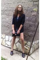 G-Star blazer - Zara dress - Centro shoes