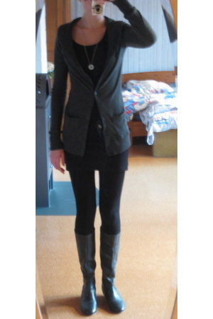 H&M dress - Urban Outfitters jacket - Buffalo shoes
