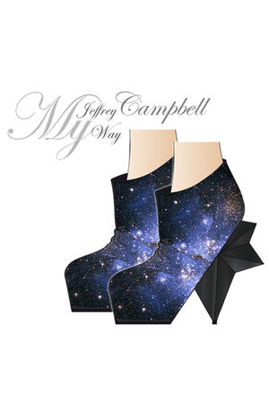 black Jeffrey Campbell My way shoes
