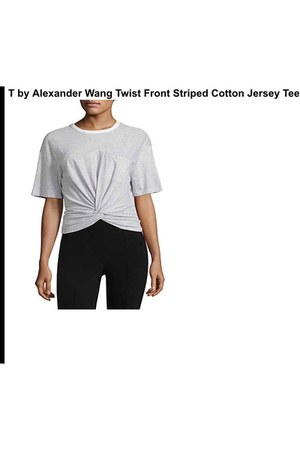 t by alexander wang blouse
