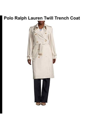 trench coat Polo Ralph Lauren coat