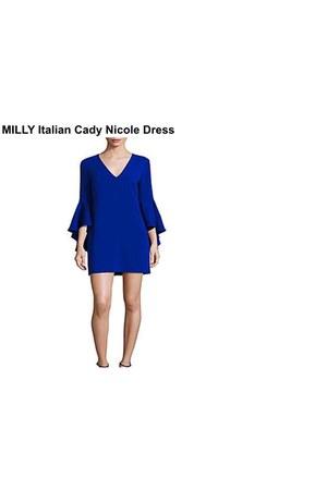 bcbg max azria bodysuit - ALC dress - milly dress - Burberry bag