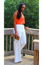 asos top - Etsy bag - Tom Ford sunglasses - Victorias Secret pants