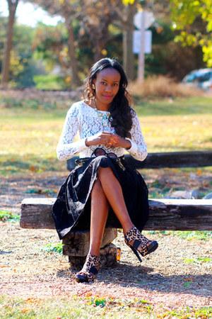 calvin klein shoes - asos skirt
