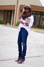 Gucci-boots-j-brand-jeans-asos-hat-h-m-shirt-zara-bag