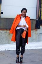 vince shirt - Givenchy boots - asos coat - Zara bag - vince pants