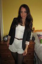Topshop blazer - lace H&M romper