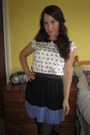 Dorothy-perkins-blouse-h-m-skirt
