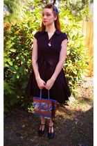 black modcloth dress