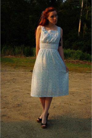Vintage 40s dress from httpetsycomshopmstips dress - tillys shoes