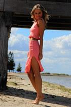 peach Justyna G skirt - peach Justyna G top