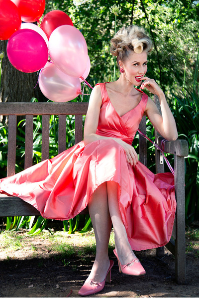 pink Justyna G dress