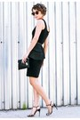 Michael-kors-dress-ellington-wallet-vintage-ysl-glasses-d-g-heels