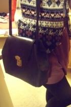 Goodwill purse - American Apparel skirt - Goodwill vest