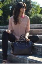 Equipment shirt - black Givenchy bag