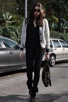 black mauro grifoni shirt - periwinkle Isabel Marant sweater