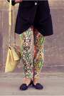Saska-coat-asoscom-leggings-krokodyl-bag-river-island-loafers