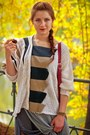 Silver-saska-dress-beige-diy-sweater-ruby-red-leather-krokodyl-bag