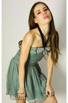 blue Miss Milne dress