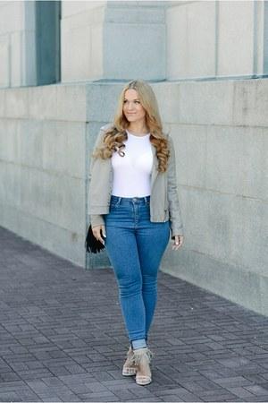 asos jeans - PROENZA SCHOULER bag - asos top - stuart weitzman heels