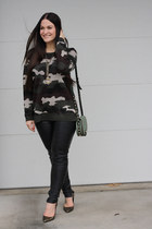 Willow & Clay sweater - Rebecca Minkoff purse - Report Signature heels