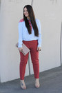 Clare-vivier-purse-thakoon-addition-blouse-h-m-pants