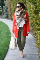 Nasty Gal blazer - Paige Denim jeans - Alexander Wang bag - ray-ban sunglasses