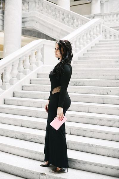 venus dress - Charlotte Olympia bag - Christian Louboutin heels