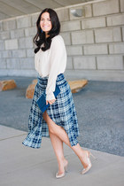 Double Slit Skirt