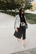 IRO jacket - dress - PROENZA SCHOULER bag - Porsche Design sunglasses