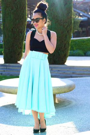 full midi bow KTRcollection skirt