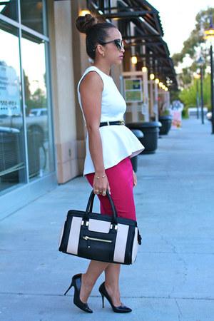 H&M top - Express skirt