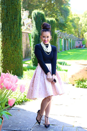 full midi pink KTRcollection skirt