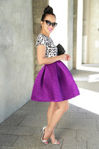 KTRcollection skirt - leopard crop KTRcollection top