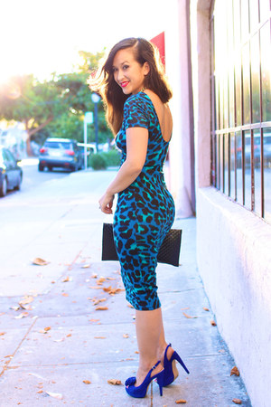 leopard bodycon Wayf dress