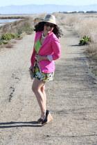 pink blazer H&M blazer