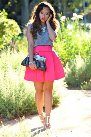 KTRcollection skirt - Zara heels