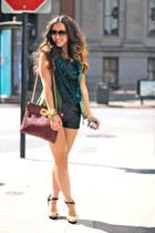 H&M shorts - OASAP vest