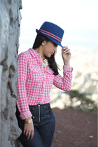 fedora Juicy Couture hat - H&M shirt
