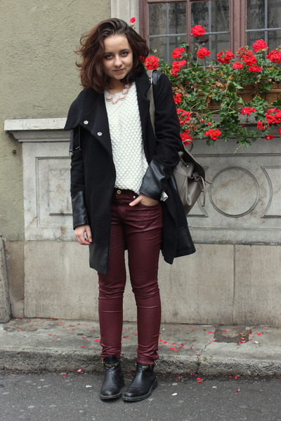 Pepe Jeans coat - H&M pants