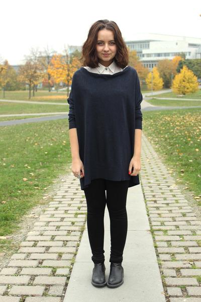 Moschino boots - H&M dress