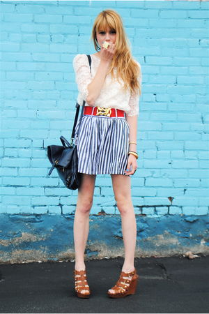 Cynthia Vincent for Target shoes - Forever 21 skirt - Forever 21 top