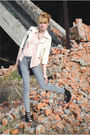 Gray-forever-21-jeans-jacket-black-forever-21-shoes-forever-21-necklace
