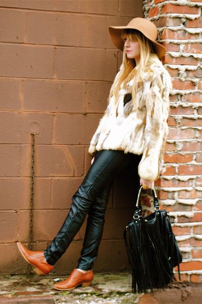 vintage shoes - H&M pants - vintage jacket