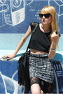 Forever-21-skirt-h-m-hat-forever-21-blouse-deena-ozzy-shoes-h-m
