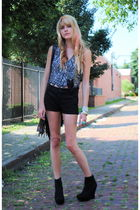 Forever 21 shoes - Forever 21 shorts - Forever 21 vest - Forever 21 accessories