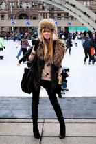 Forever 21 vest - H&M pants - H&M hat